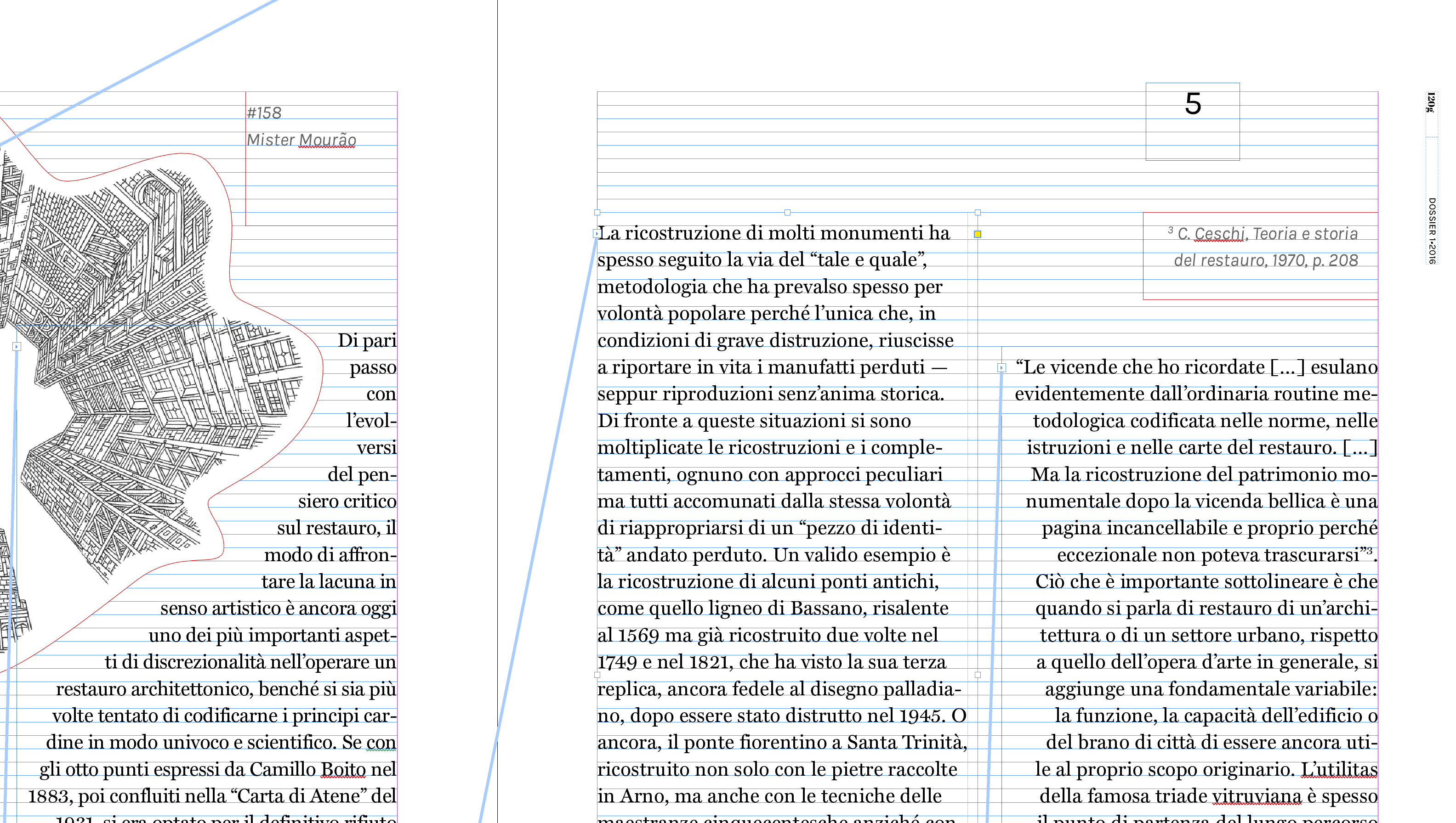 Wireframes: Dossier 01 • Lacuna