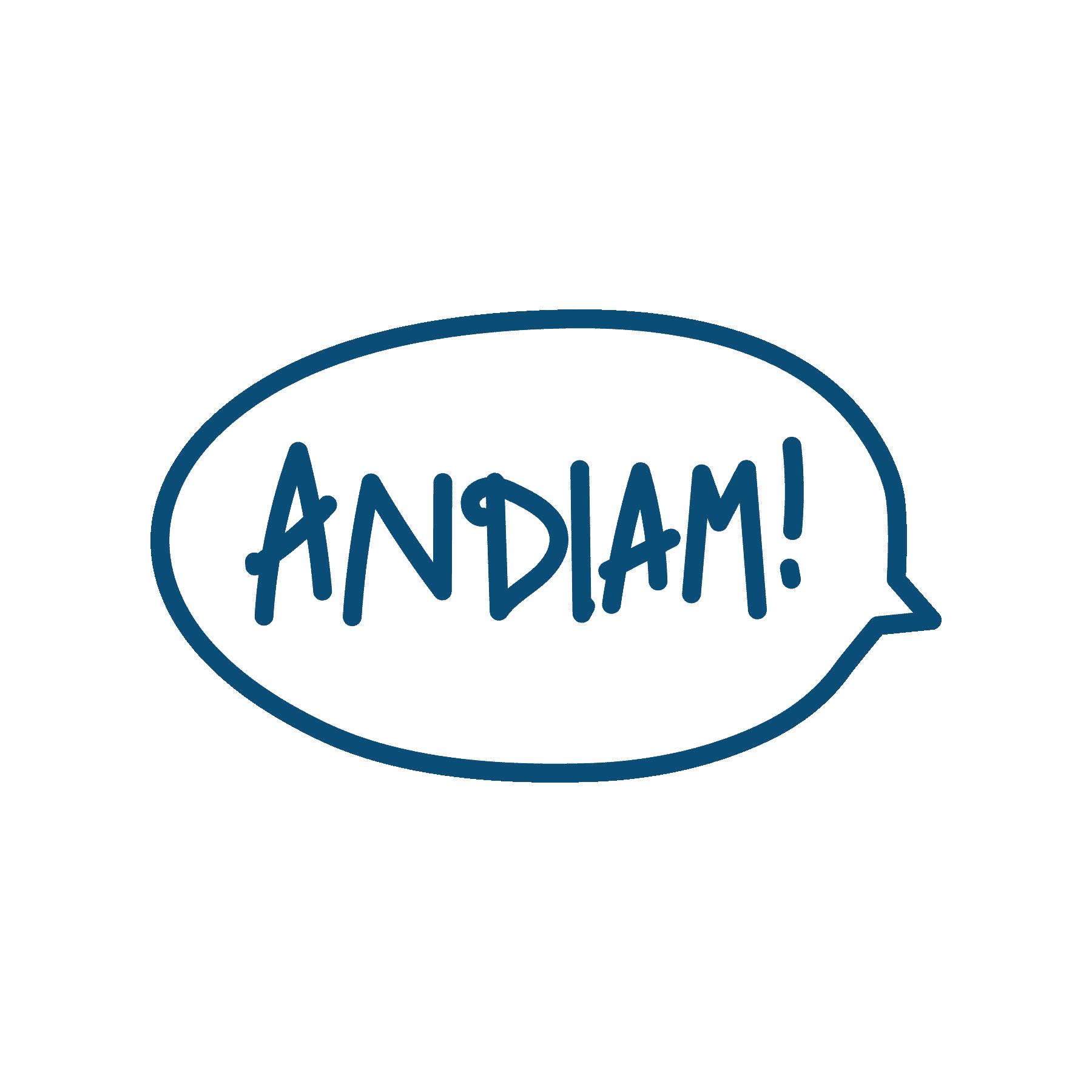 ANDIAM! new logo