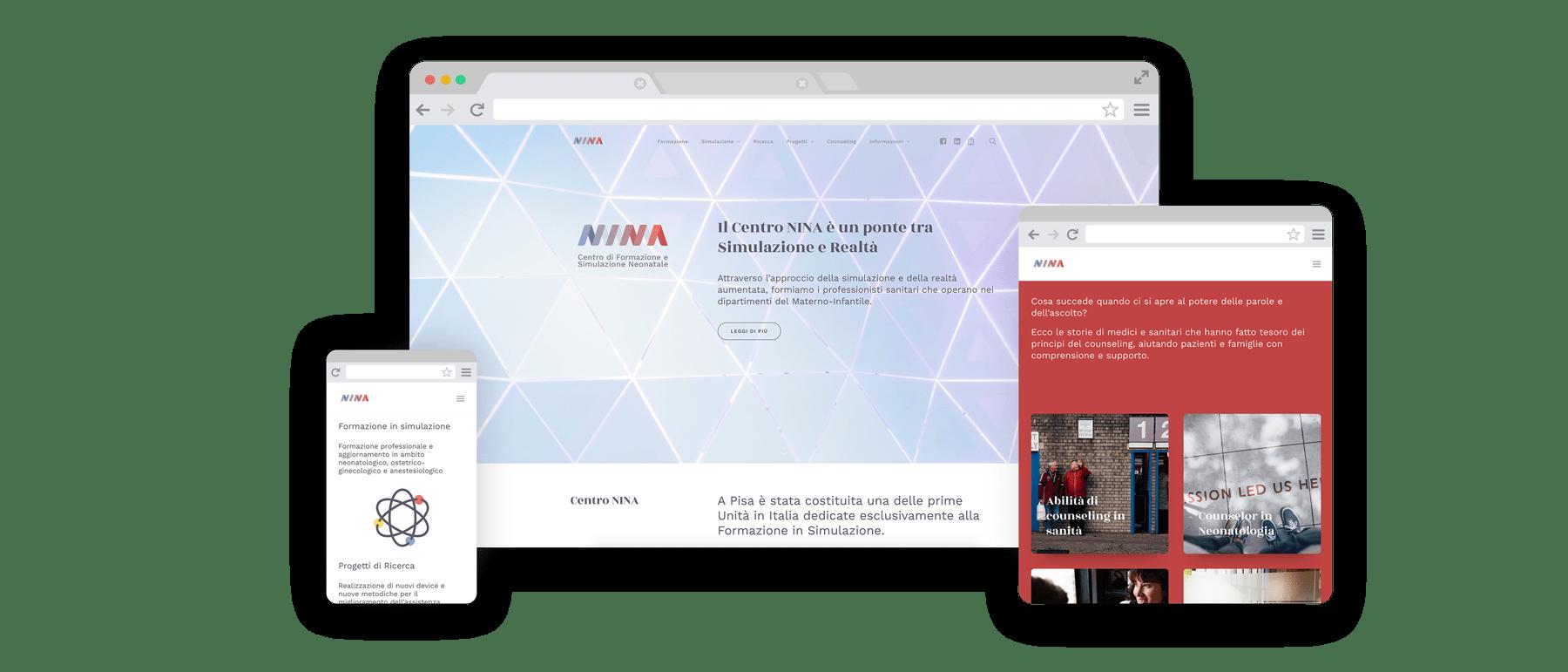 Centro NINA website
