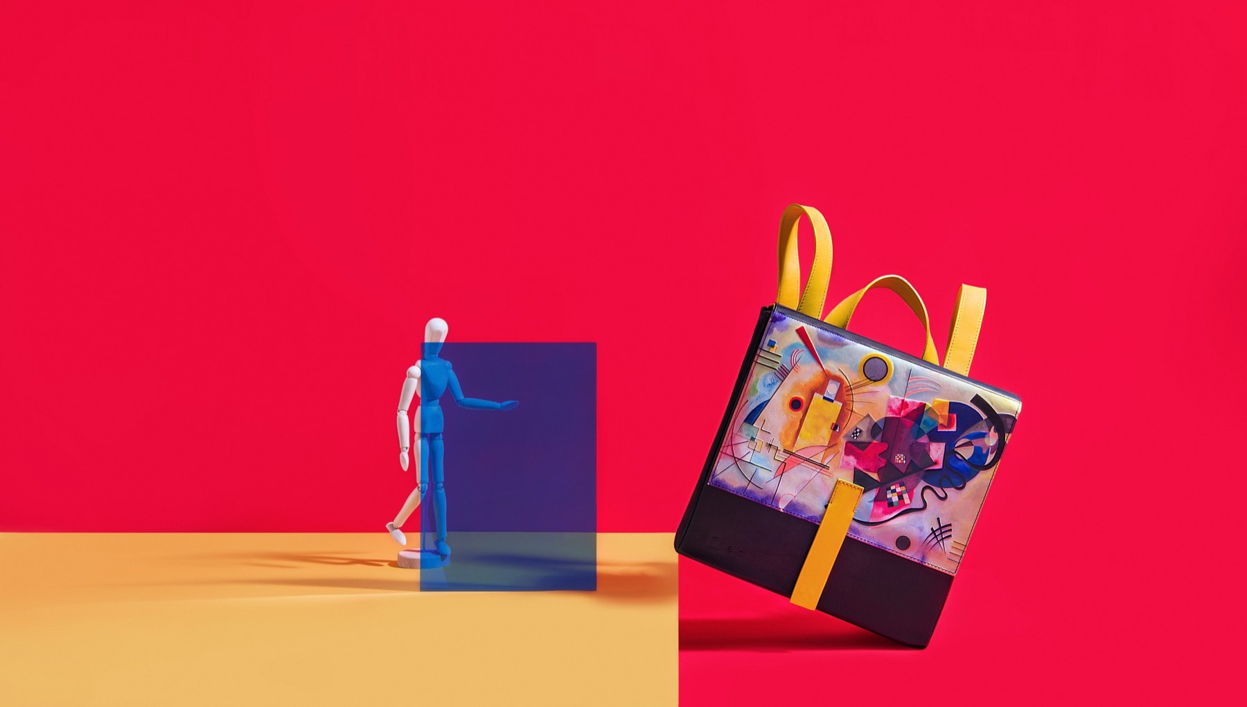 Kandinsky, Yellow, Red, blue.