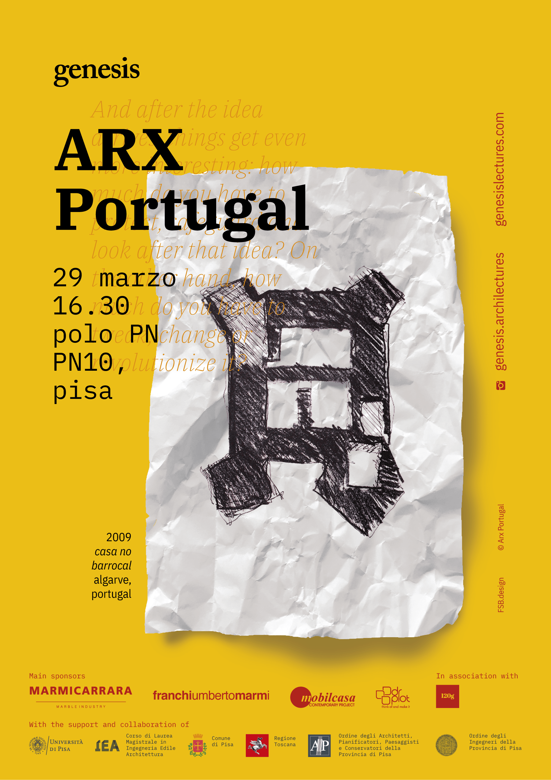 ARX Portugal at Genesis Lectures 2019