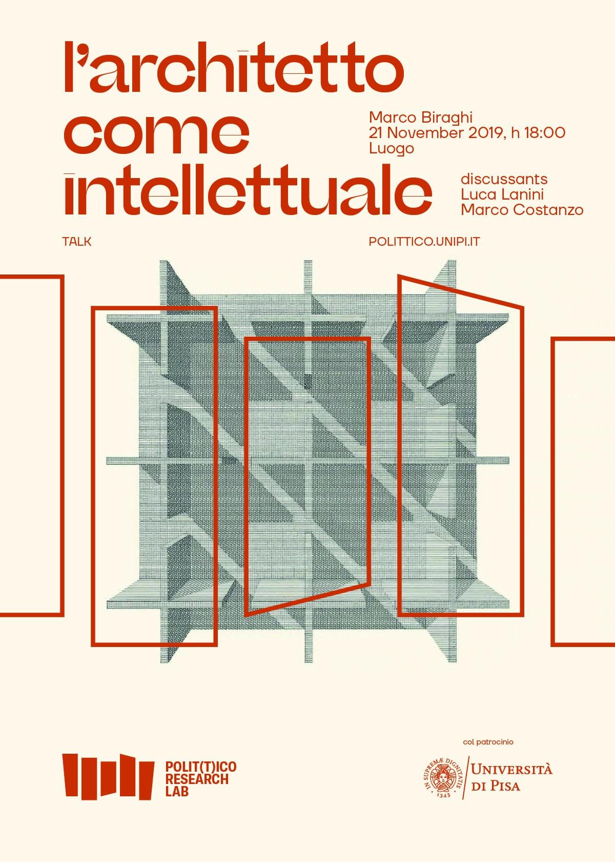 Polittico Research Lab poster / Marco Biraghi